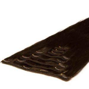 Extensii Clip On 50cm 70g Saten Mochachino 1C-0