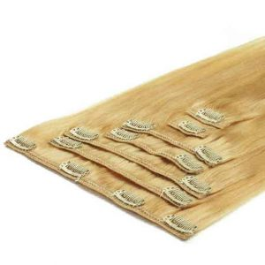 Extensii Clip On 50cm 70g Blond Deschis 613-0