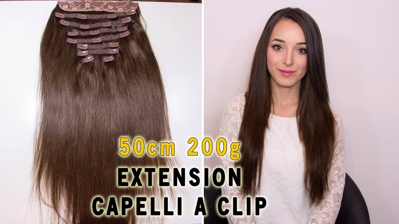 Extensii Clip On Deluxe 50cm 200g