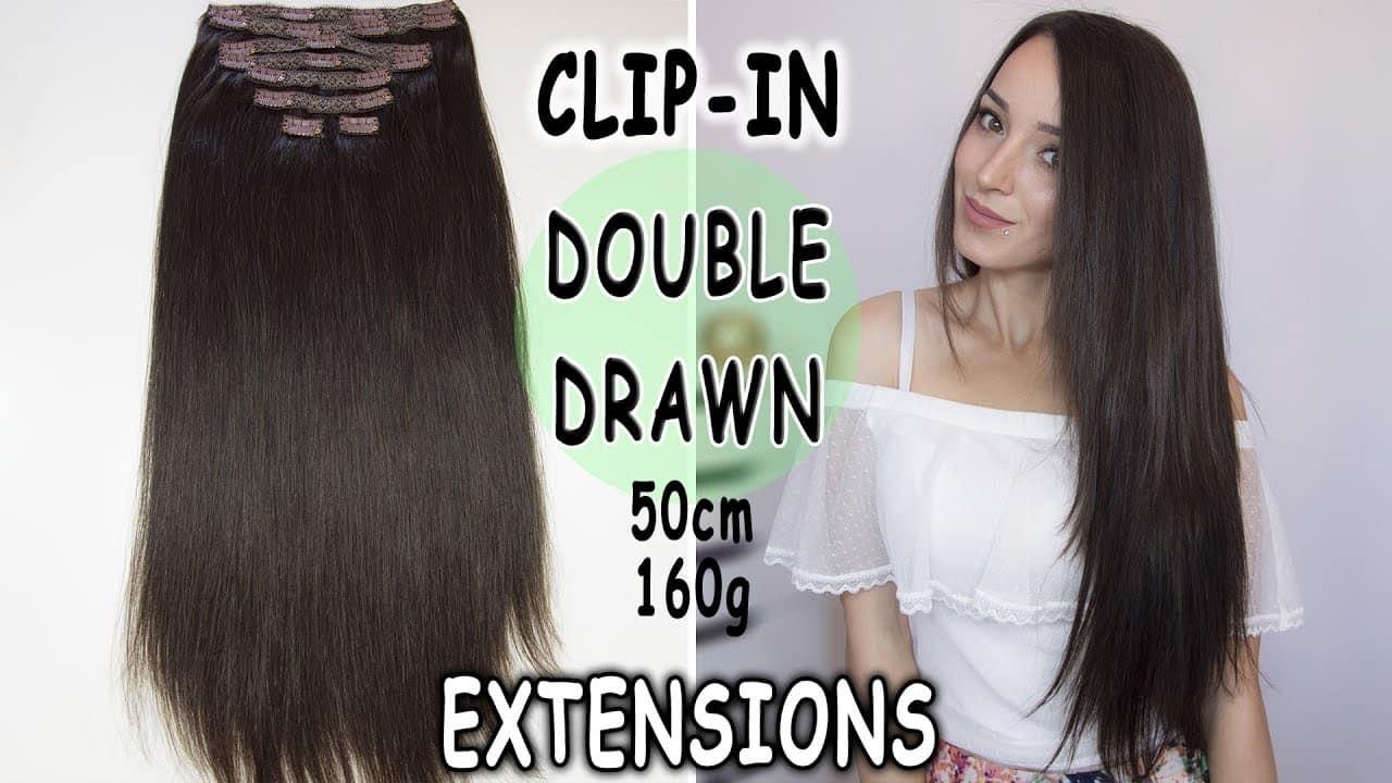 Extensii Premium Clip On 50 cm 160 g