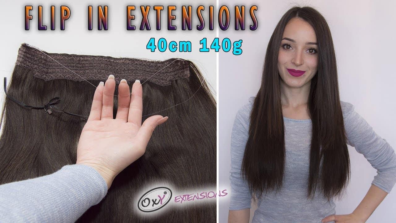 Extensii de Păr Flip-In 40 cm 140 g